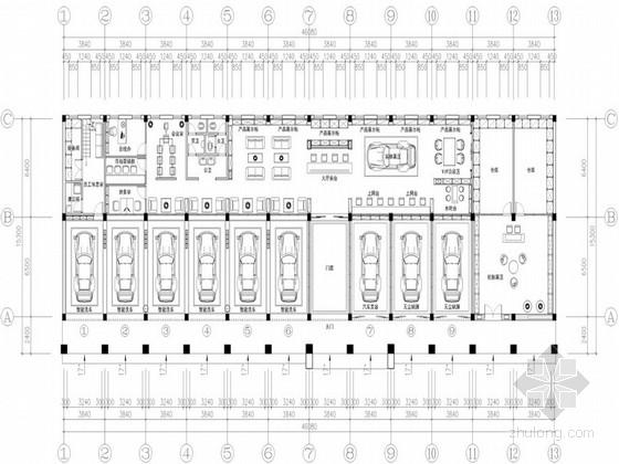 [江西]高档汽车美容服务店室内设计方案