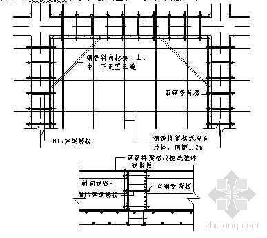 北京某大学教学楼底板及基础梁模板施工技术交底(长城杯)
