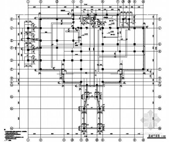 上海某住宅楼结构设计图
