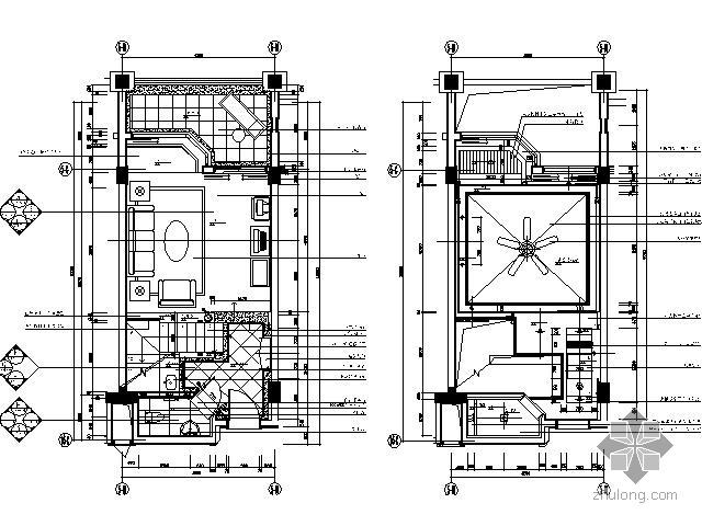 酒店复式客房设计装修图