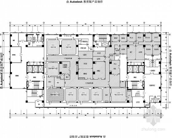 [陕西]手术室洁净空调系统设计施工图(含结构弱电 医用气体)