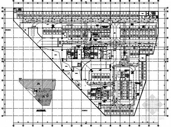 [杭州]商业办公大厦暖通设计施工图图片