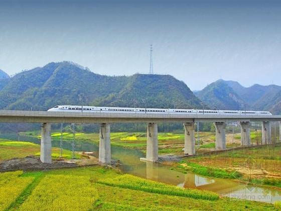 高速铁路桥梁结构与施工技术讲义580页(PPT 知名大学)