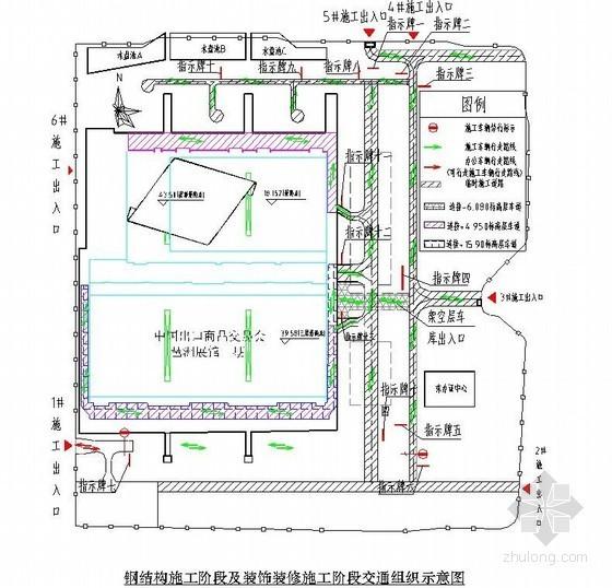 展览馆工程施工总平面布置与机械配置施工方案