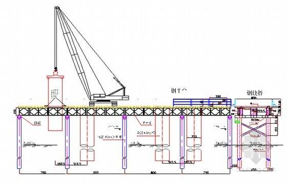 [广东]跨河桥梁钢便桥及钢平台专项施工方案58页(含计算说明书)