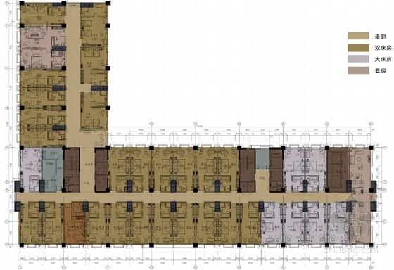 [青岛]5星现代豪华酒店室内设计方案文本含效果图