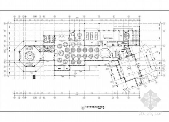 [福建]东方神韵中式会所室内设计装修方案