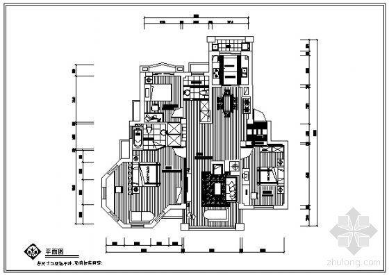 一套三居室北欧风格装修图