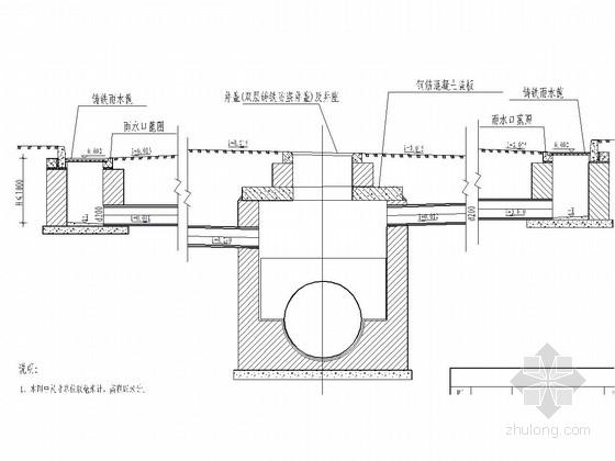 [重庆]工业园道路给排水工程施工图设计155张