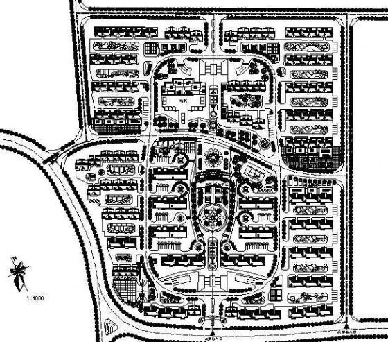 某旧村改造规划图