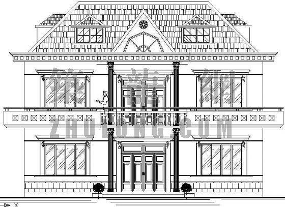 某欧式别墅方案