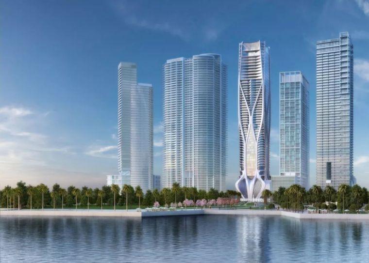 扎哈生前设计的最后一栋公寓楼,一套卖3亿