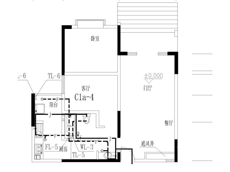 17层建筑给排水毕业设计(包含生活给水系统、污水系统、废水系统)-j建筑给排水毕业设计图纸-Model5.jpg