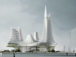 精美综合建筑3D模型下载