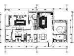 [杭州]欧式售楼处样板房住宅空间设计施工图(含效果图+实景图)