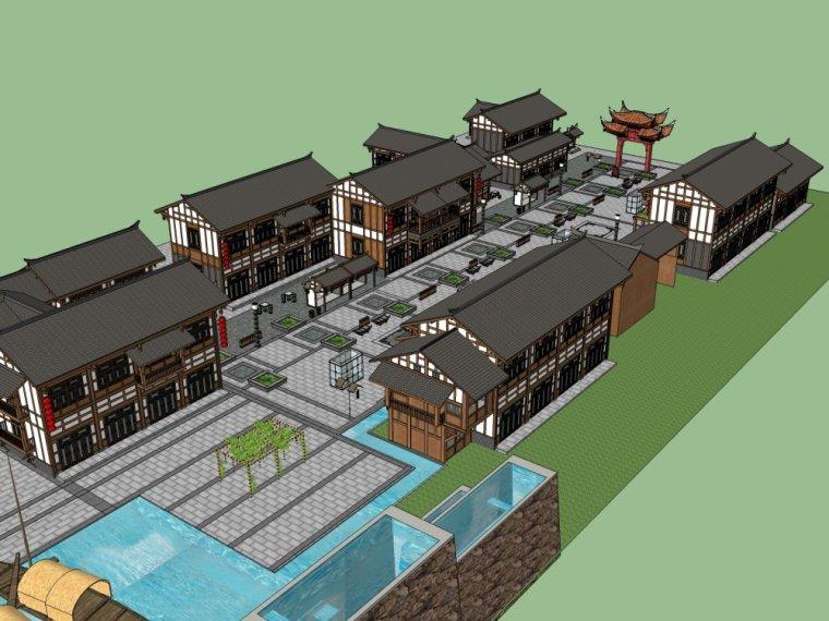 传统商业街+中式风格建筑商业街设计.skp-20150731_175917_286