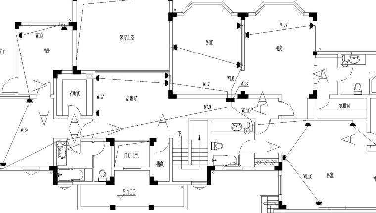 某别墅电气设计施工图_1