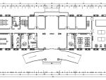部队综合作业楼办公楼设计施工图(附效果图)