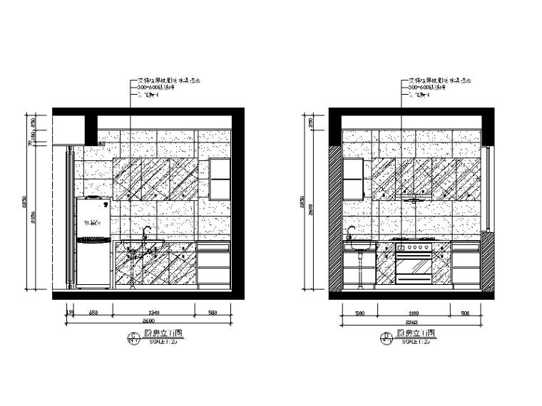 [广东]新中式别墅风格v别墅CAD施工图(含效果图cad共面0图片