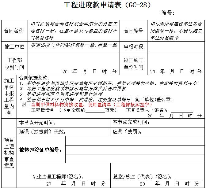 知名房地产公司工程管理表格(322页,表格丰富)_3