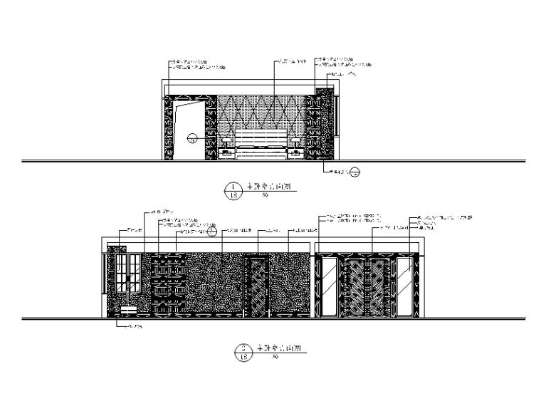 【北京】两套时尚经典别墅设计CAD施工图二_4
