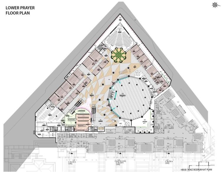 土耳其马尔马拉大学神学系清真寺-14
