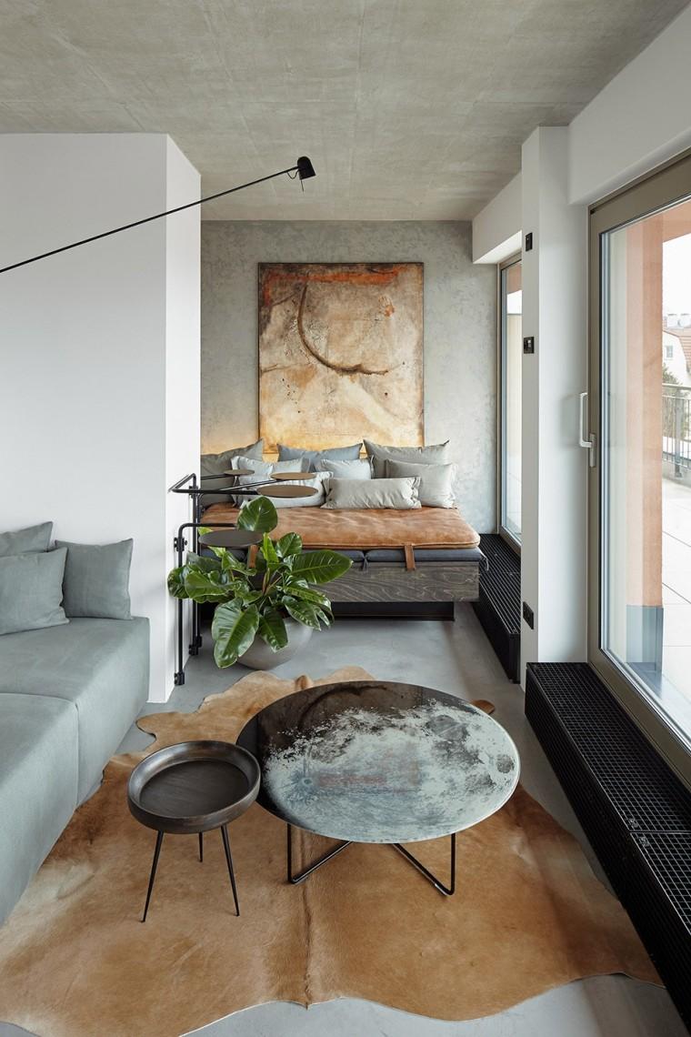 """""""非典型""""工业风-布拉格公寓设计_6"""