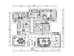 现代简约风住宅设计施工图(附效果图)