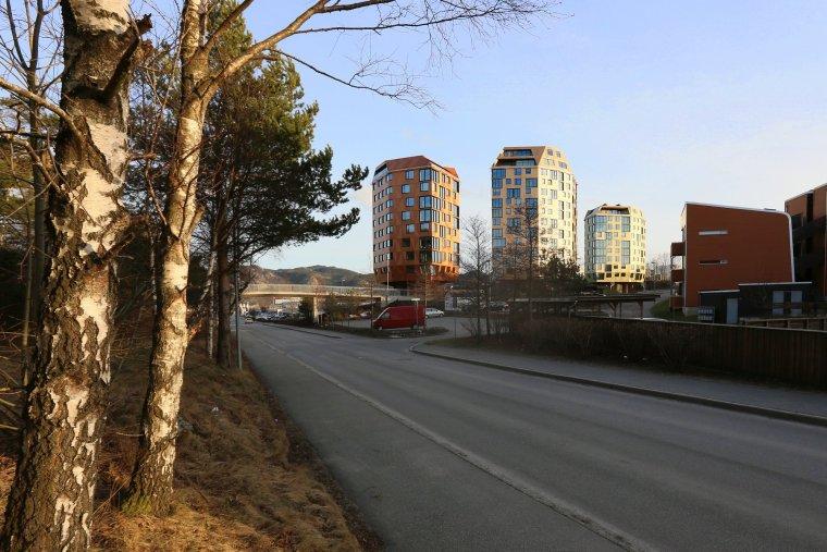 挪威Rudskogen住宅楼_4