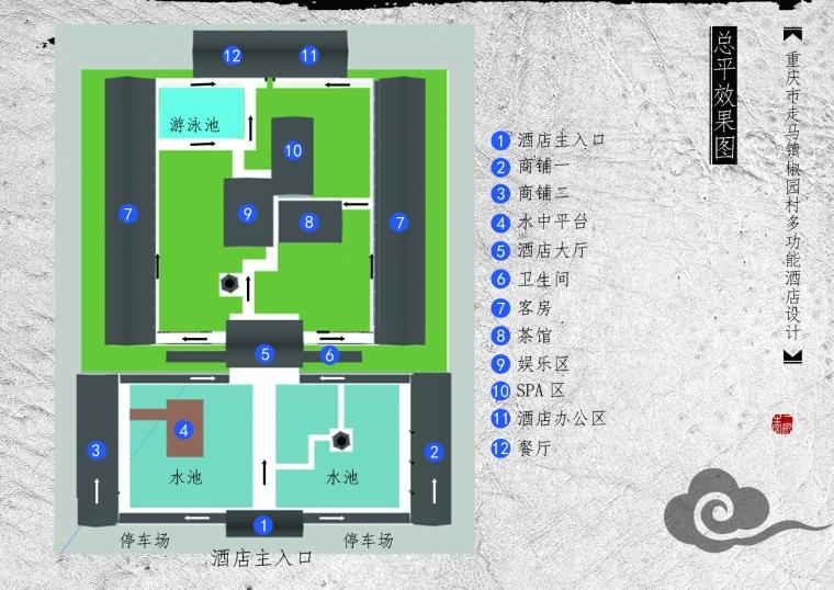 重庆市走马镇椒园村多功能酒店设计_1