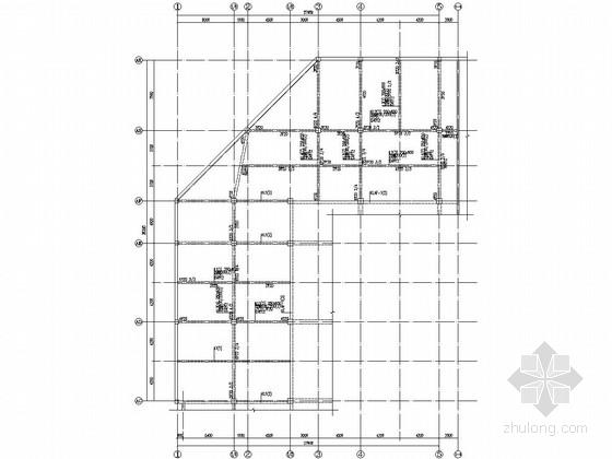 [浙江]地上二层框架结构商业楼结构施工图