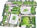 某商业建筑景观绿地设计方案