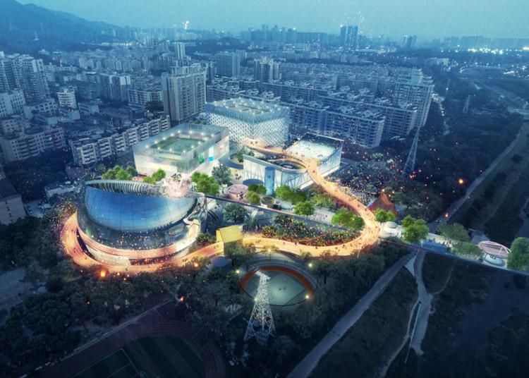 新项目!MVRDV参与设计文体中心新模式——深圳西丽文体中心