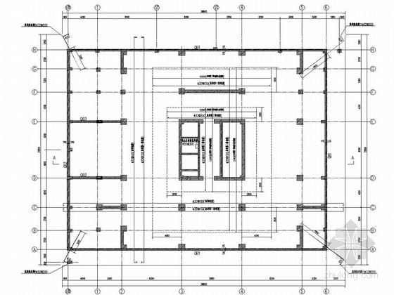 [分享]带地下室图纸剪力墙意思资料下载结构什么ec框架表示图片