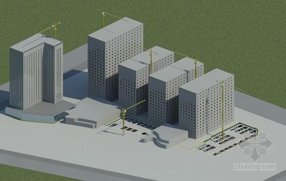 [上海]钢筋混凝土框剪结构商业综合楼项目施工组织设计(A3版式356页 附图多)