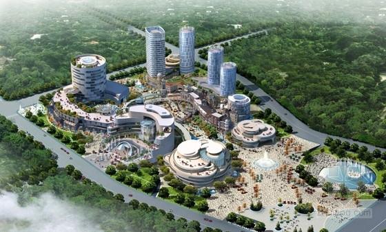 [山东]大型文化商业综合体建筑设计方案文本