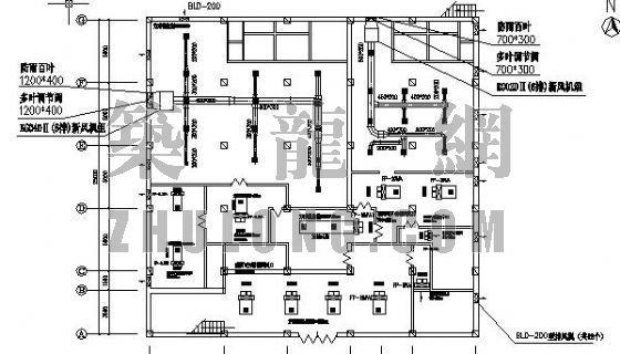 大酒店中央空调工程施工图