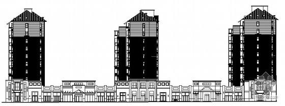 [武汉]某公园小区建筑群建筑方案图