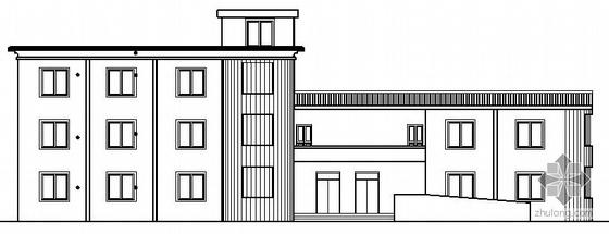 [延安市志丹县]某敬老院公寓楼及配套建筑结构施工图