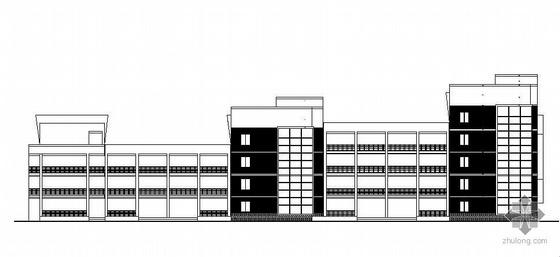 [海宁]某学校高中部教学楼建筑施工图