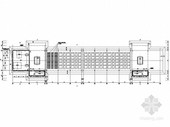 汽车卸煤沟地上、地下部分结构施工图