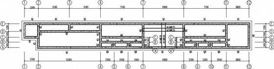 2.8米深污水处理池结构施工图