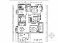 [常熟]迷你温馨三室两厅公寓室内施工图