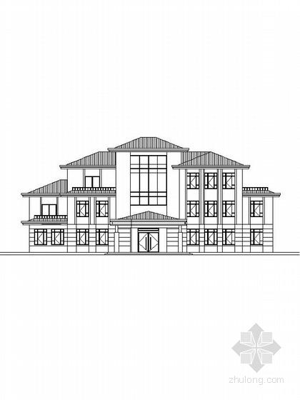 [新农村]三层独栋别墅建筑施工图(含效果图 推荐参考)