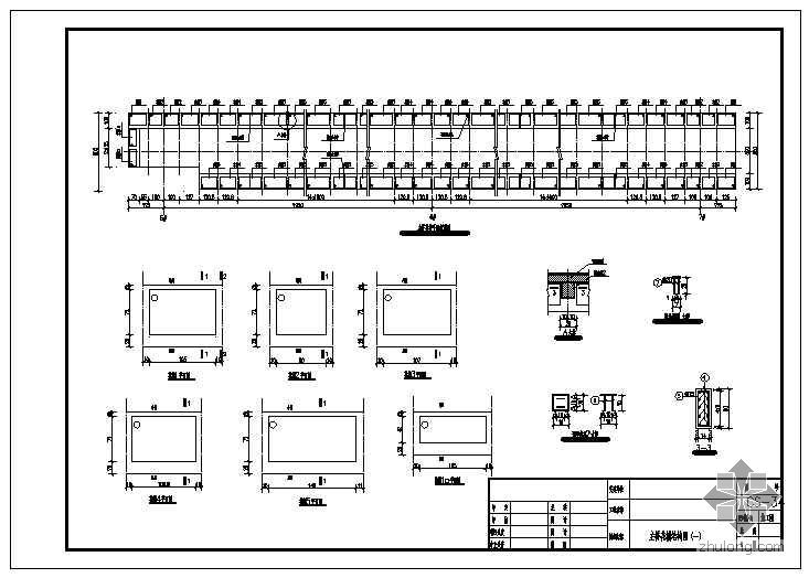 钢结构人行天桥设计图
