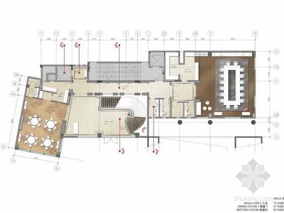 [珠海]独栋古堡式国际会所最终室内设计方案