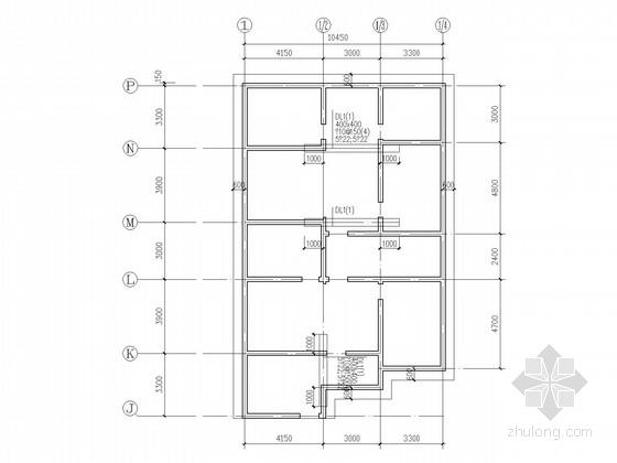 地下一层地上五层砌体住宅结构施工图