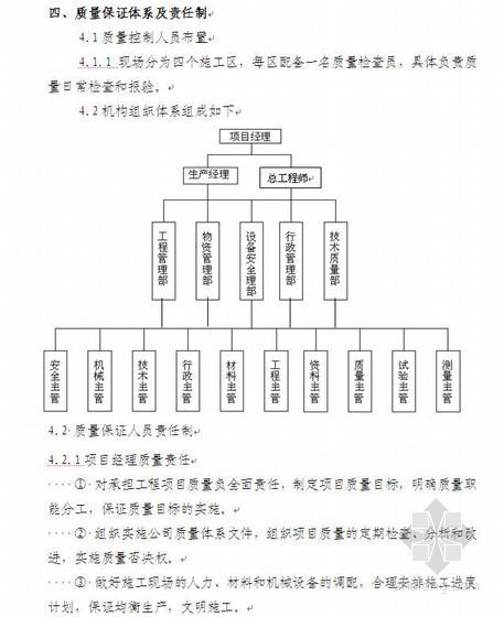 溧马高速公路工程质量目标计划书