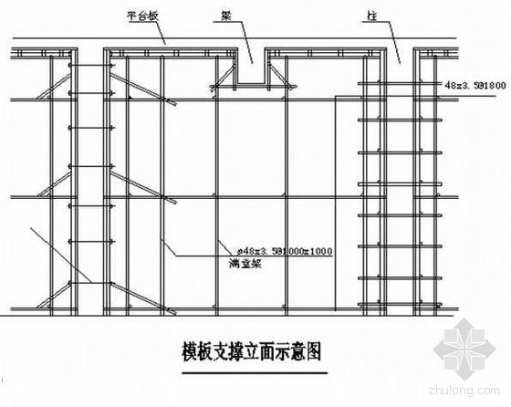 上海某多层工业厂房施工组织设计(4层 框架结构)