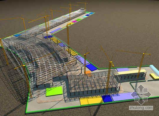 江西某机场航站楼施工组织部署方案